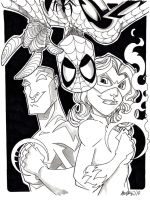 Spider-man and Friends by misfitcorner