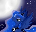 Princess Luna - Oh most wonderful of nights by The-Riph