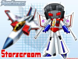 Starscream Wallpaper by YukiMiyasawa