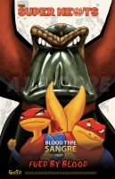 Super Newts-Blood Type Sangre Comic#4 - Poster by GudFit