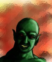 Orc Portrait by MikeErty