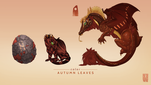 Autumn Leaves Exclusive Dragon by Blackpassion777
