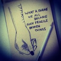 Fragile Broken Things by Narniakid