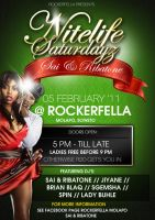 Rockerfella Flyer/Poster Design by ThaboThabiso