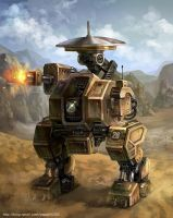 Robot for reconnaissance by GoddessMechanic