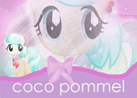 Crystal Coco Pommel Wallpaper (MLP) by Singlite