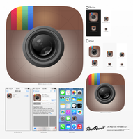 iOS7 Instagram Icon by betty02