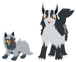 Poochyena and Mightyena Base
