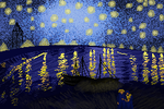 Starry Night Over the Rhone by GingerMama