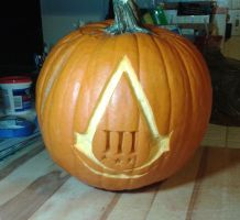 Assassin's Creed Pumpkin by VP-Land-of-La