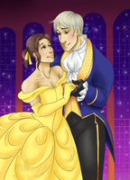 Beauty and the Beast by uberchicken