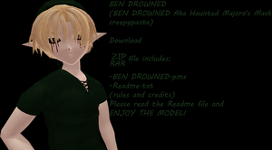 BEN DROWNED model DL by TotodileDash