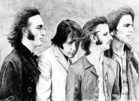 The Beatles by Sabdi