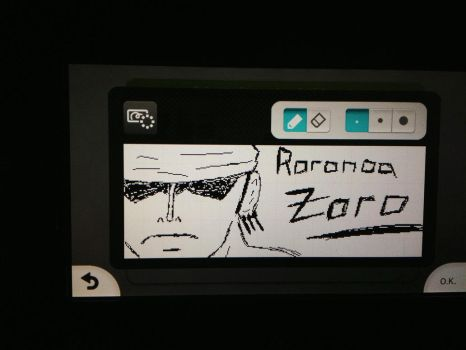 WiiU drawing zorro :D by MGstyle