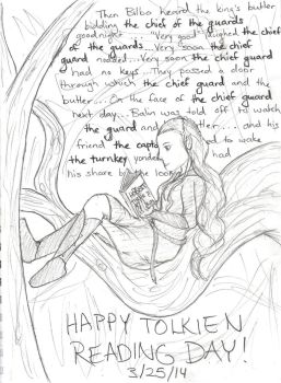 Happy Tolkien Reading Day 2014 by Hasami-hime