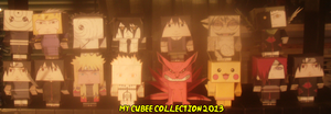 My Cubee Collection Is Growing by Levi-Ackerman-Heicho