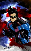 Nightwing Ramos My Colors by JamesLeeStone