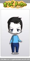 ChibiMaker microsoft sam's chainsaw face by tigerclaw64