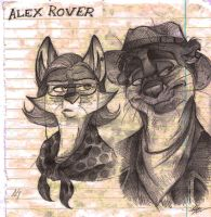 Alex Rover by FortunataFox