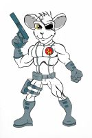 Danger Mouse E color, by nightwing992000