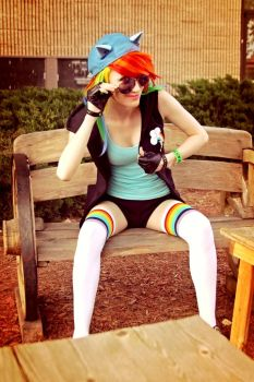 Dashie Cosplay by PyroTemperTantrum