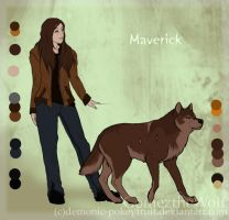 Maverick Character Reference by Demonic-Pokeyfruit