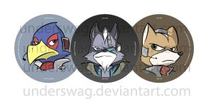 Starfox Buttons Samples by UnderSwag