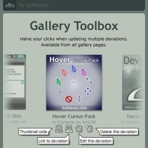 Gallery Toolbox by =BoffinbraiN on deviantART