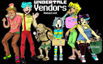 Undertale Vendors Humanised by G0966