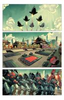 Black Lotus Empire #1 by panelgutter