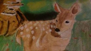 Baby Fawn by darkwitch123