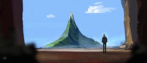 The last mountain by Dumaker