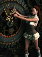 Susan - Steam Clock by Sedorrr