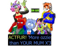 ACTfur on air Cast by Aktherion