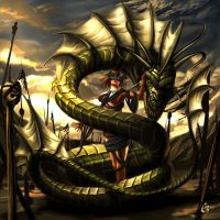 Serpent Charmer by Emortal982