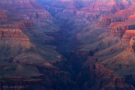 Bright angel canyon by PeterJCoskun