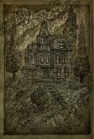 The creepy house by Andirilien