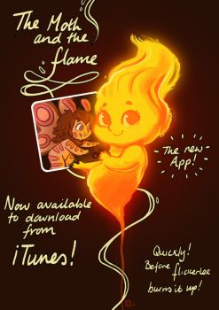 The Moth and the Flame now on iTunes. by StressedJenny