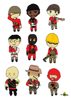 all tf2 classes by tzumii
