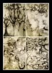 Charcoal Nightmares by IceandSnow