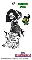 Villainess- Zombie Girl by Gummibearboy