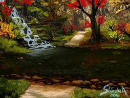 Autumn Stream by hoCbo