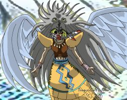 Guardian Eatos in the Wind by Dragon-Celtic-Chan