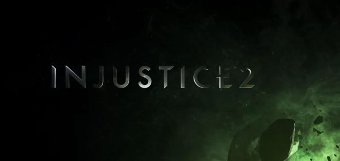 Injustice 2: Title Screen by PhantomEvil