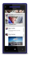 Facebook for Windows Phone by MetroUI