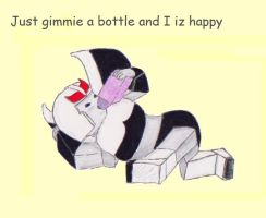 Happiness is an Energon Bottle by Cairistona