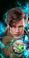 11th Doctor Sonic - Galaxy by chriscastielredy