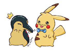 Swagger Poke Friends. by xMoshyMCCOY