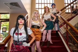 Escapist Expo: Victorian Sailor Scouts by WashuuOtaku