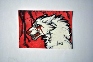 ACEO Bloody by Crimson-Asylum
